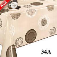 Клеенка для стола Dekorama 34 А флизелиновая основа 1.4х1 м Турция