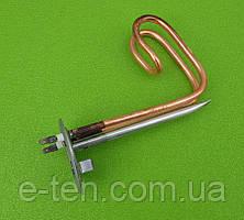 Тэн медный для бойлеров Ferroli 1500W / 220V / фланец Ø82мм / Lдлина=170мм (с трубкой под термостаты)