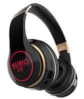 Беспроводные наушники Muzic T15 LED (Черный)