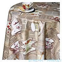 Клеенка для стола Dekorama 39 А флизелиновая основа 1.4х1 м Турция