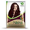 Хна для окрашивания волос TM Nisha в порошке коричневая 15 г
