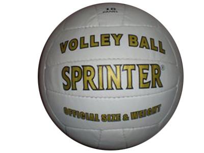 """Мяч волейбольный белый """"Sprinter"""" Пакистан."""