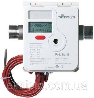 Счетчик тепла SENSUS PolluStat EX 25-6 Ду25 ультразвуковой, PN 16  муфта (Словакия-Германия)