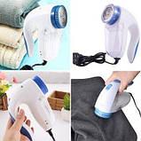 Машинка для видалення і зняття катишек з одягу електрична Shave FL-2008 White | Машинка для чищення катишків, фото 3