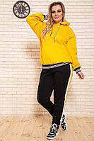 Спорт костюм женский 102R5069 цвет Желто-черный