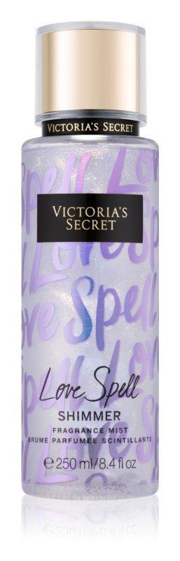 Парфюмированныйспрей мист Victoria`s Secret Love Spell Shimmer с шиммером