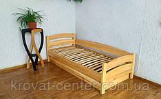 """Односпальная кровать с подъемным механизмом из дерева """"Марта"""" 90х200"""