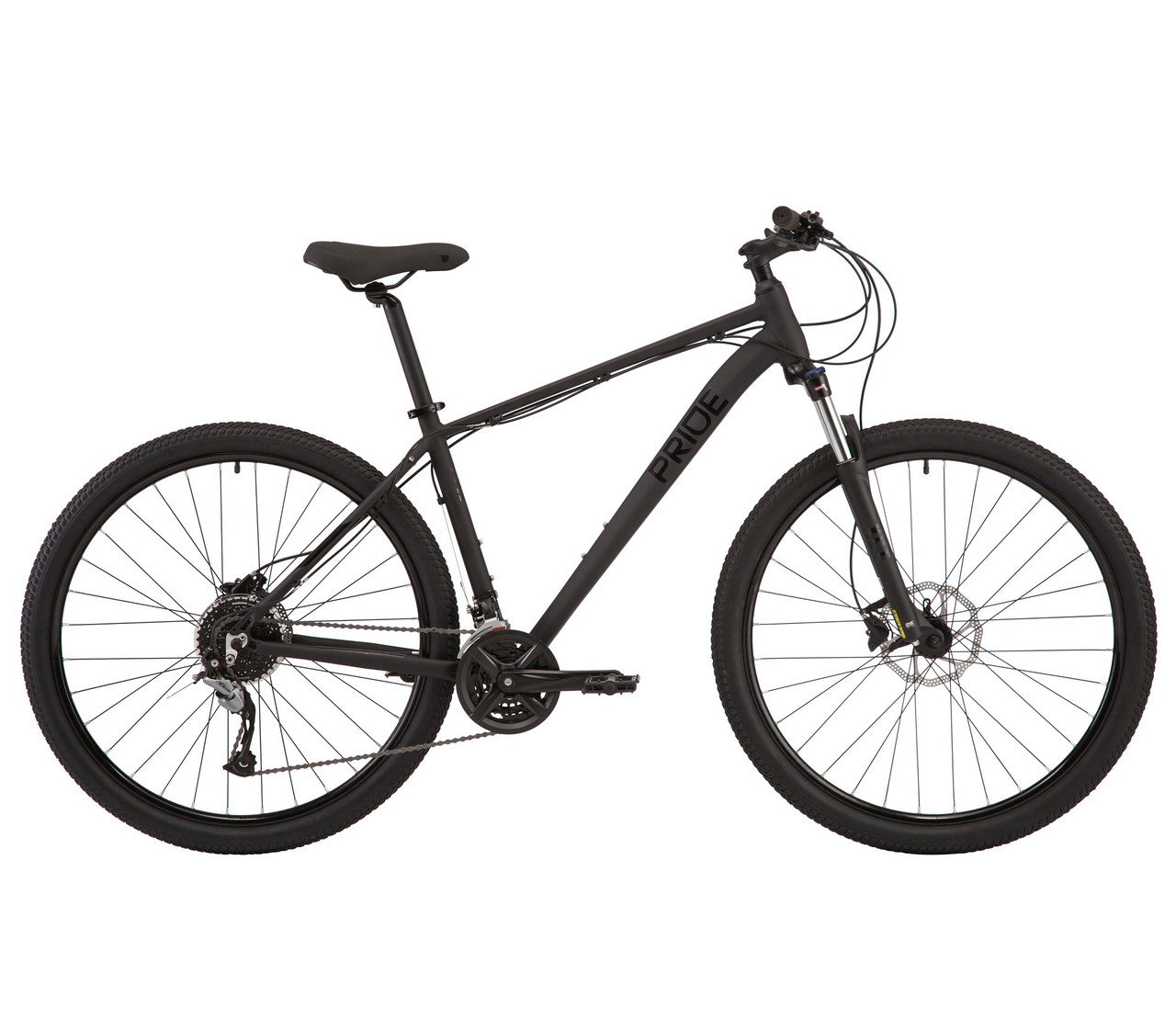 "Велосипед Pride MARVEL 9.3 29"" XL 2021 Чорний"