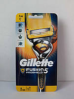 Верстат чоловічий для гоління Gillette Fusion Proshield + 2 картриджа (Фюжин прошилд)