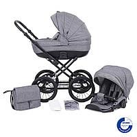 Универсальная коляска Knorr Baby 2 в 1 ,Kreta (hellgrau)