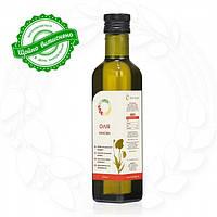 Маковое сыродавленное масло в бутылке