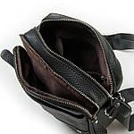 Сумка планшет мужская кожаная через плечо DR. BOND черная (06-102), фото 2