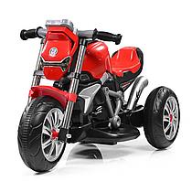 Детский трехколесный мотоцикл BAMBI M 3639-3 красный