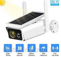 Видеокамера для наблюдения WIFI IP уличная Solar ABQ-Q1