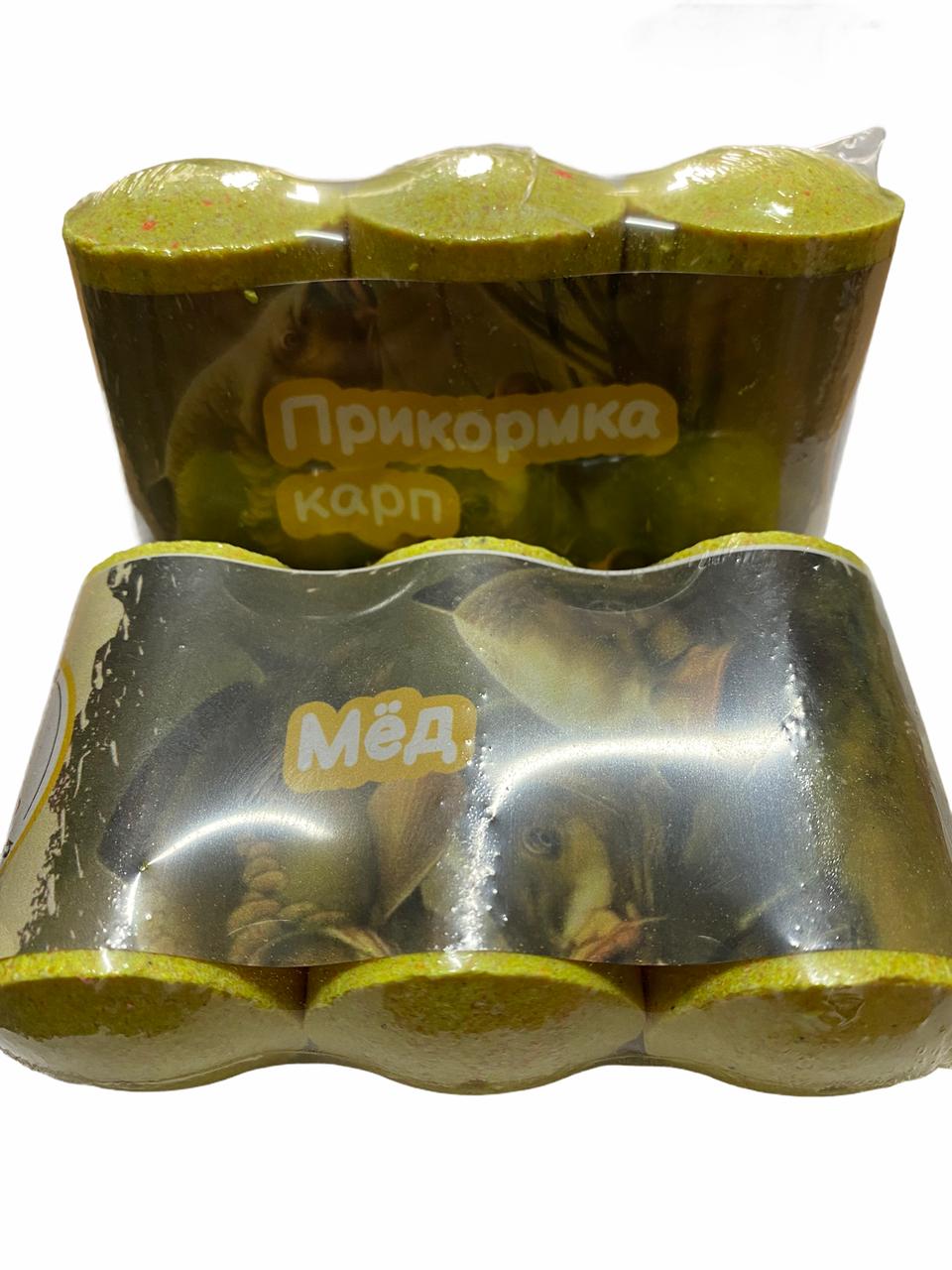 Прикормка Lucky Ebisu 3 бочонки по 75 грам Короп-мед