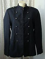 Жакет стильный высокий рост хлопок лен бренд H&M р.52 4726, фото 1