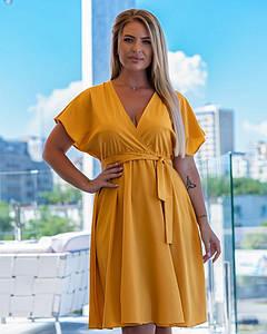 Женское летнее платье 006 (МАК)
