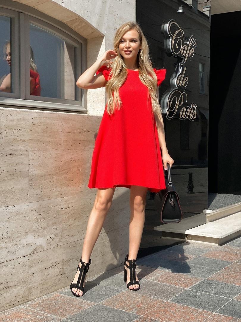 Женское летнее платье 011 (МАК)