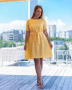 Женское летнее платье 001 (МАК)