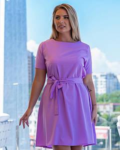 Женское летнее платье 004 (МАК)