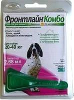Merial Frontline Комбо Спот-он моно піпетка для собак вагою 20-40 кг від бліх і кліщів