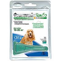 Merial Frontline Комбо Спот-он моно пипетка для собак весом от 10 до 20 кг