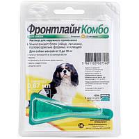 Merial Frontline Комбо Спот-он моно пипетка для собак весом от 2 до 10 кг от блох и клещей
