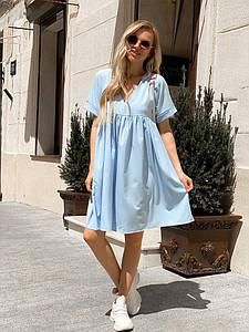 Женское летнее платье 024 (МАК)
