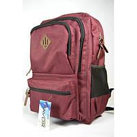 Рюкзак городской Favor 975-08-бордовый, фото 1