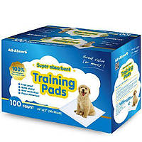 Пеленки для собак 56х58 см, 100 шт, All-Absorb (Олл-Абсорб) Regular