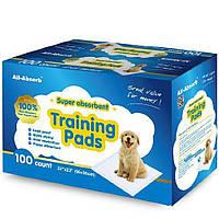 Пелюшки для собак 56х58 см, 100 шт, All-Absorb (Олл-Абсорб) Regular