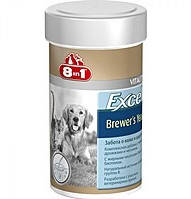 8 in 1 (8 в 1) EXCEL BREWERS YEAST вітаміни для шкіри і вовни собак і кішок, 140 шт