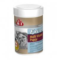 8 in 1 (8 в 1) Excel Multi Vitamin Puppy вітаміни для цуценят 100 таб.