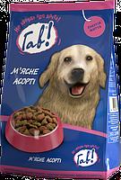 Гав! М'ясне асорті 10 кг - корм для дорослих собак