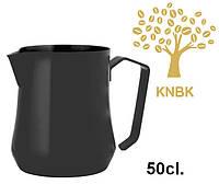 Питчер молочник Motta TULIP Nera Black 500 мл. (Черный), фото 1