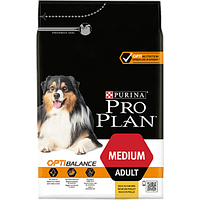 Сухий корм Purina Pro Plan Medium 3 кг для собак середніх порід