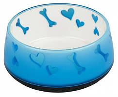 Пластиковая миска для собак 0.9 л/Ø18 см