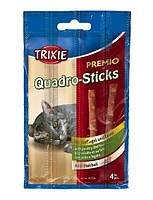 Палички для котів Quadro-Sticks (птах печінку) 4шт / 5гр