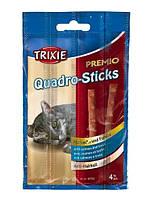 Палочки для котов Quadro-Sticks (лосось форель) 4шт/5гр