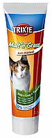 Паста для выведения комков шерсти у котов, с таурином Trixie Malt'n'Cheese (солод трава таурин) 100 гр