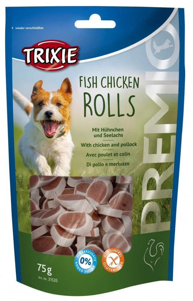 Лакомство для собак Trixie Premio (курица сайда) 75 гр
