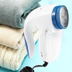 Машинка для видалення і зняття катишек з одягу електрична Shave FL-2008 White | Машинка для чищення катишків