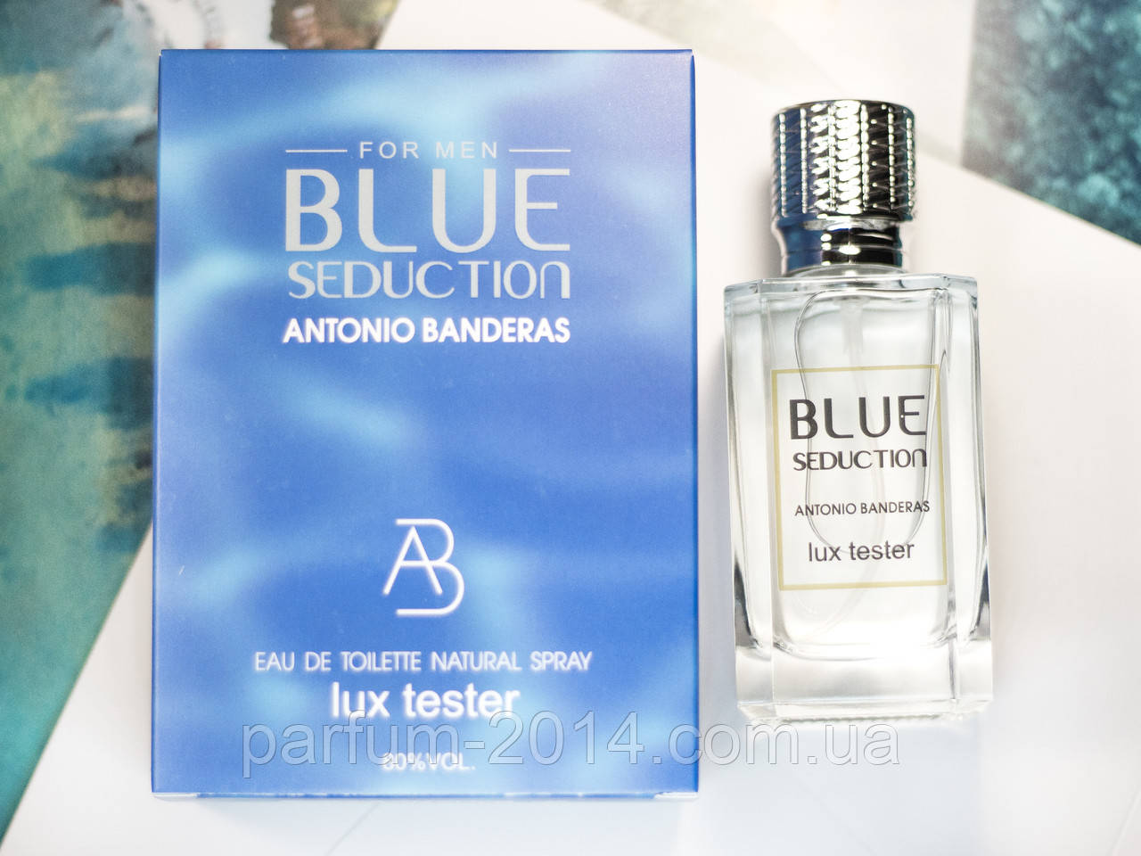 Чоловічий парфум Антоніо Бандерас блу седакшн Antonio Banderas Blue Seduction 100 ml (осіб) парфуми аромат tester