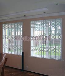 Раздвижные решетки на окна для коттеджей