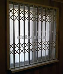 Оконная раздвижная решетка на окно для дома