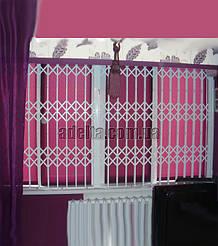 Решетки на окна раздвижные для квартиры