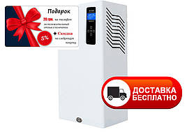 Электрический котел отопления сенсорный 21 кВт Tenko Премиум+ 380 В ППКЕ с насосом и баком, настенный
