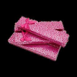 Подарочные коробки 205x46x23 Картон Малиновый