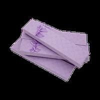 Подарочные коробки 205x46x23 Картон Фиолетовый