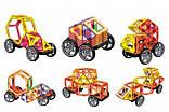 """Конструктор магнітний для дітей """"Транспорт"""" MAGniSTAR LT3002, 58 деталей, фото 2"""